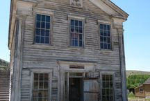 Glimpses of American History-Ghost Towns, abandoned Buildings, Living Museums