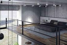 bovenbed//open kamer