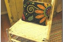 rug hooking / by Teresa Long Wenger