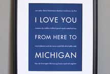 States - Michigan - HOME <3 / Pins from the beautiful Great Lakes state / by Lisa Peterson Houwerzyl