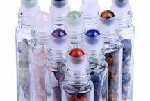 Gemstones, crystals , oils .