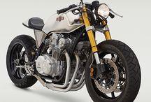 Café, custom, bobber, buid bikes / Inspirations for a 80's bike build