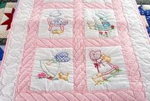 Amish Baby and Infant Quilts / Handmade Amish baby and infant crib quilts