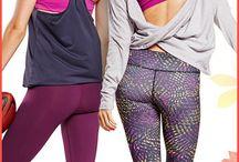Workout Apparel / fun workout clothes