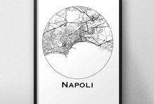 Affiches de ville Italie
