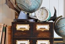 Globes, windows and maps