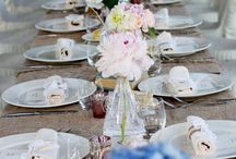 Country Chic Wedding / Flowers, Decorartions and Details for a Country Chic Wedding