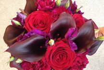 Passionflower weddings - Reds and Burgundy / A selection from our portfolio of wedding work containing warm shades of reds and burgundy.