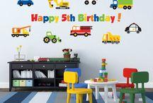 Transportation birthday
