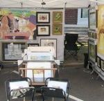 Art Show Display and Tips / Tips on preparing for art shows and display ideas.
