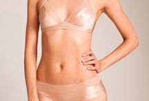 """Flesh Tone Vintage Lingerie / What's your nude shade? Vintage lingerie foundations in all the flesh tones (not just beige!) Deeper skin tone? Check out the """"Brown Vintage Lingerie"""" board!"""