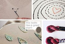 Textures&Textiles // Hooks&Needles / For Crocheting, Knitting, and other fiber craft endeavors