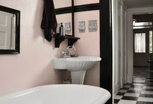 Salle de bain retro chic
