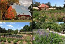 Mount Vernon / Mount Vernon includes not only the historic Washington's home but also beautiful gardens.  See: http://dcgardens.com/mount-vernon/