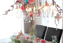 Tablescapes / by Baggin's Gourmet Sandwiches & Catering