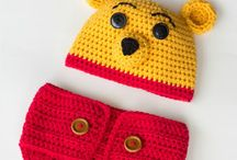 Crochet - Hat & Diaper cover