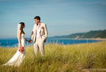 Weddings in Southwest Michigan / Plan your wedding in Southwestern Michigan. With beautiful beaches, picturesque sunsets, bountiful harvests and tasty local wines, Southwest Michigan is sure to make any bride's dream wedding a reality.