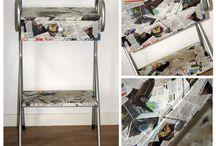 Petits meubles / Restaurés par l'atelier de la Sardine