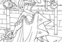 omalovanky princezny