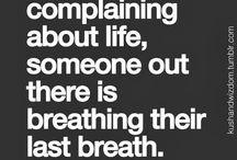 Good sayings to remember