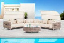 Luxury Garden Sofa Sets / #DesignerGardenSofaSets #Skylinedesigns #AlexanderRose #LuxuryGardenSofaSet
