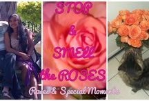 Roses and HOMEMADE FOOD / Featuring our Family Meal Ideas