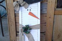 Christmas decor/crafts