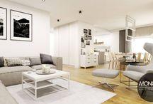 Eleganckie wnętrze w nowoczesnym stylu / Nasz najnowszy projekt to eleganckie wnętrze w nowoczesnym stylu. Przeważają w nim jasne kolory bieli i szarości, które zostają uzupełnione o elementy czerni i ciepłe barwy drewna widoczne na dodatkach i meblach.  Po więcej inspiracji zapraszamy na Naszą stronę internetową:biuro@monostudio.pl,  http://monostudio.pl/portfolio_item/eleganckie-wnetrze-nowoczesnym-stylu/ oraz na Facebooka
