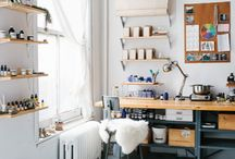 Workspace / Inspiration to decorate your workspace with mymap.