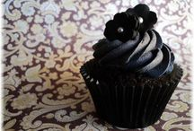 Black Cupcakes & Party Ideas
