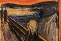 Expressionism art / Edward Munch, Emil Nolde, Paul Klee, Oskar Kokoschka, James Ensor