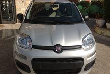 FIAT NEW PANDA 1.2 EASY €9.900 / Km 0 - Benzina - Climatizzatore manuale - Cambio manuale - Chiusura centralizzata - 1200 cm3- Radio cd - 5 porte-6 airbag- Grigio metalizzato - 07/2013 -Interni inTessuto grigio/rosso