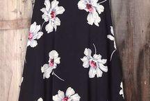 Черные платья макси