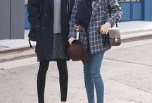 Korean fashion winter