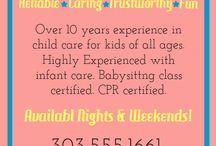 Babysitting certificate