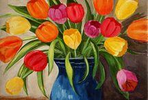 Art - Flowers / by Corrina