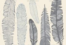 feather templates free
