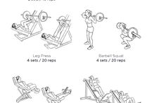 Workouts / Various workouts / by Stephanie Williams