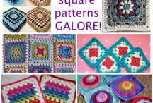Granny square crochet patterns and more