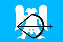 Bayrak ve Logo / Tarihte önemli yer kaplayan bazı devletlerin bayrakları ve sembolleri ...