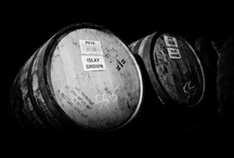 Scotch, Bourbon & Spirits / #whiskey #whisky single malt scotch bourbon rye brown liquor water of life spirits.
