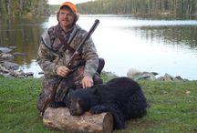 Hunting | KaBeeLo Lodge / Seasonal hunt images: bear, moose & grouse