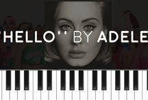 adel piano sheet