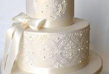 Rhona wedding cake