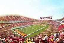 Field Sweet Field / FedExFeild home to the Washington Redskins / by Washington Redskins