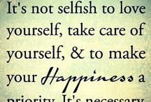 Happiness / Reminders to be calm, learn, heal, have fun and be happy