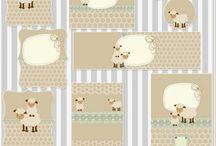 Personalizados ovelhinhas