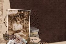 Digital Scrapbooking Inspiration / Check out these fabulous layouts