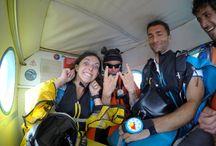 Animation Wingsuit / Initiation de la Wingsuit au Centre de parachutisme de Soulac-sur-Mer avec Matthias Mauclair, un professionnel des sports extrêmes !