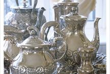 Silver / Vintage..antique..tarnished..polished..plain..embellished...it just speaks to me!
